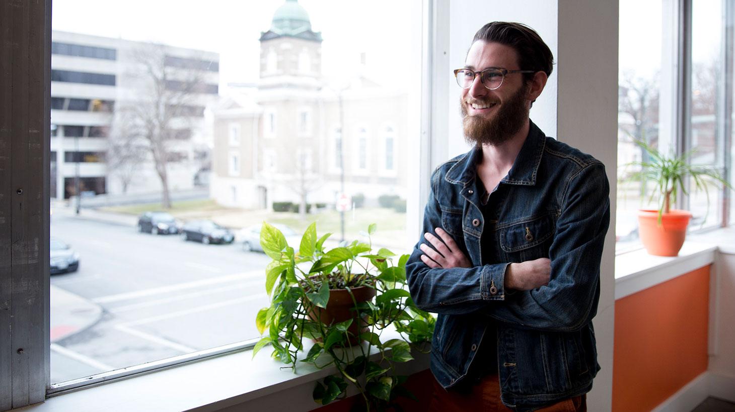 Mat Scott creates interactive solutions as a junior developer.